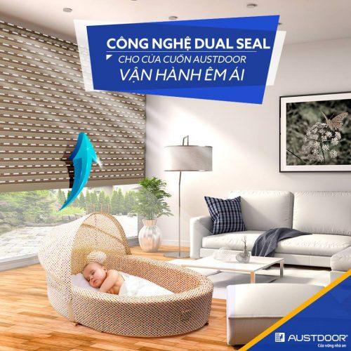 Cửa cuốn austdoor siêu thoáng - Bách Việt Group