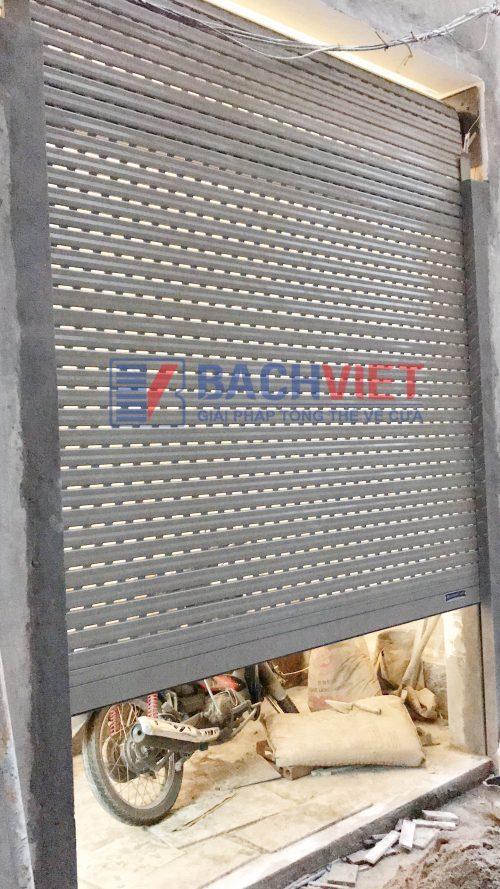 Cửa cuốn khe thoáng S52i - Bách Việt Group
