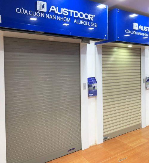 Mẫu cửa cuốn Austdoor - Bách Việt Group