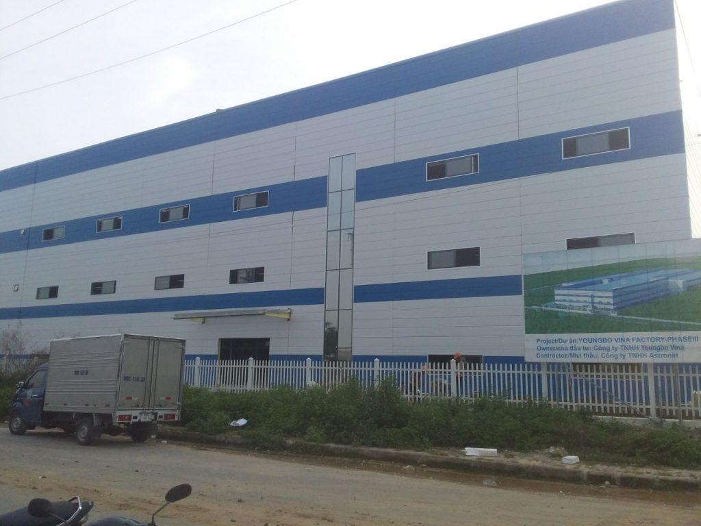 Lắp đặt cửa cuốn cho nhà xưởng tại Bắc Ninh