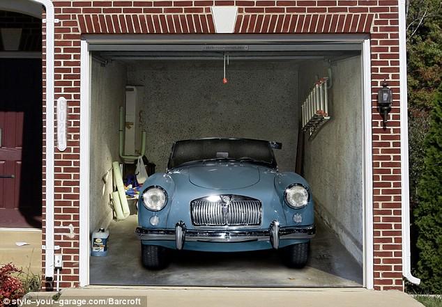 Mẫu gara để ô tô nhỏ hiện đại