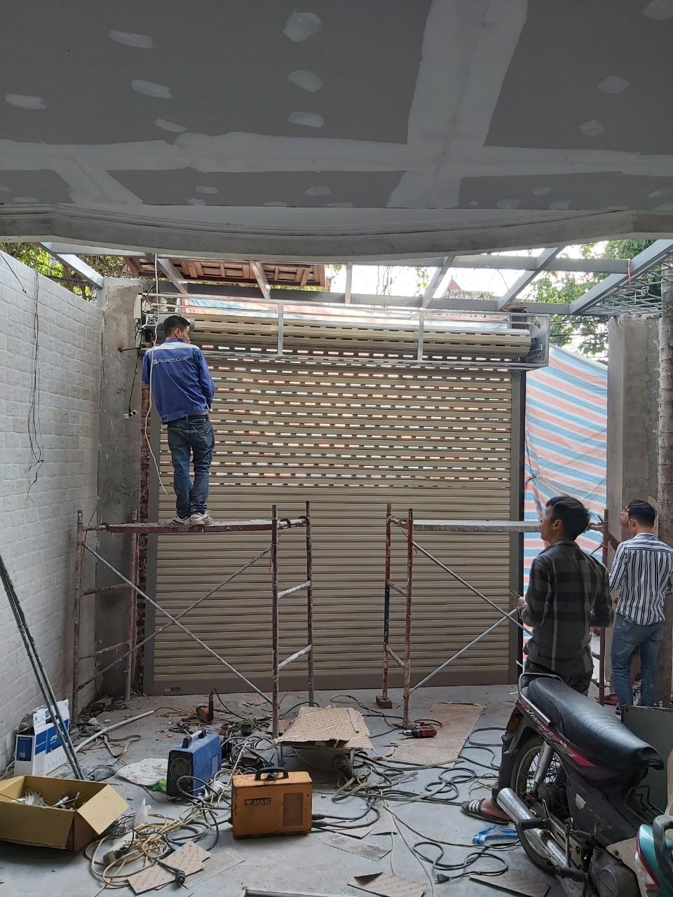 Công trình cửa cuốn siêu thoáng austdoor quận thanh xuân