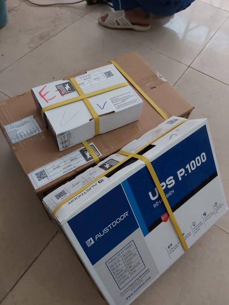 Bộ lưu điện UPS P1000 đồng bộ austdoor