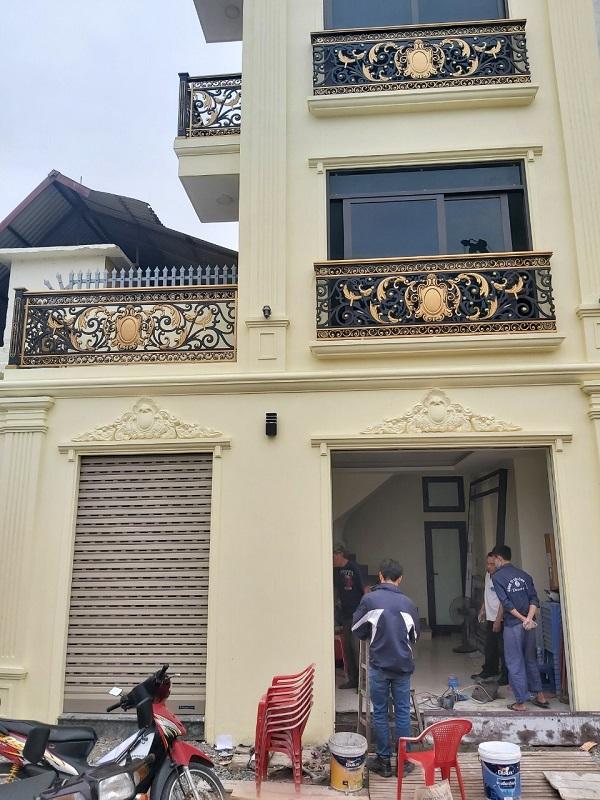 công trình cửa cuốn Austdoor C70 chị Nhàn Minh Khai