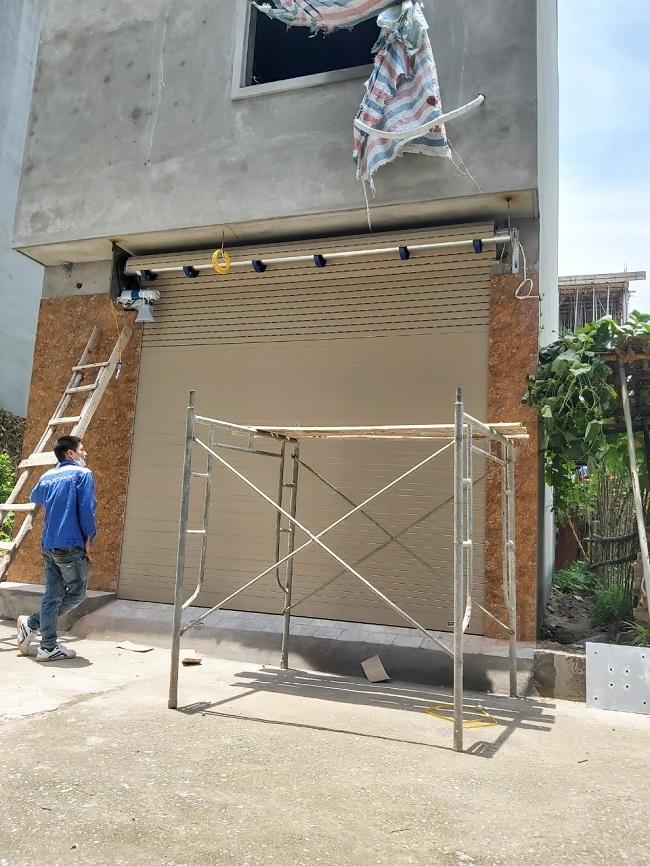 Công trình cửa cuốn A50 Anh Linh 531 bát khối long biên