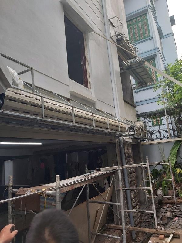 Công trình 12 bộ cửa C70 và cửa Bossdoor cho anh Hải Linh Đàm