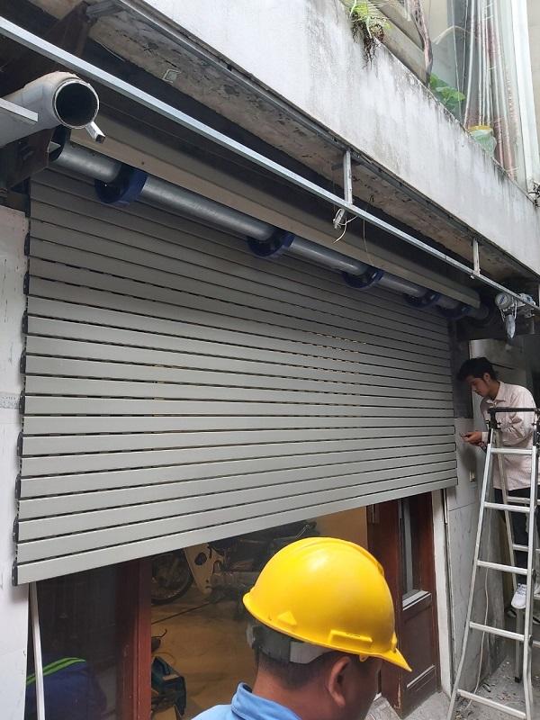 Hình ảnh thực tế công trình cửa Eurodoor gia đình chị Giang Hoàn Kiếm Hà Nội