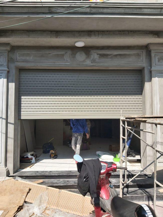 Công trình cửa S52i anh Lộc đang đi xuống