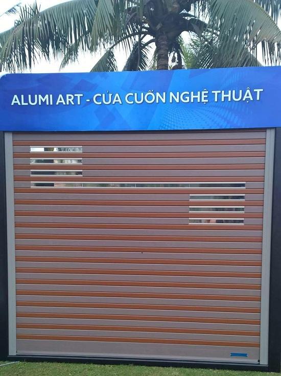 cửa cuốn nghệ thuật HCM